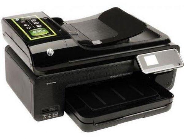 МФУ HP OfficeJet 7500A с СНПЧ High Tech с демпфером  - купить со скидкой