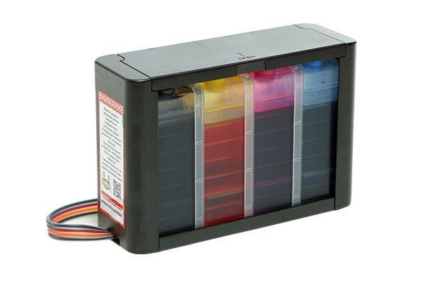 Купить СНПЧ HP DeskJet F4583 High Tech с демпфером, Lucky Print