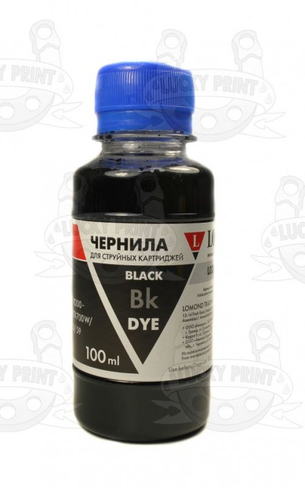 Чернила Lomond LE08 Black (100 ml)
