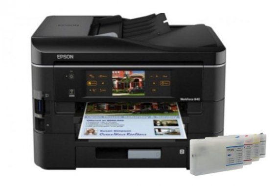 изображение Epson WorkForce Pro WP-4535DWF с ПЗК