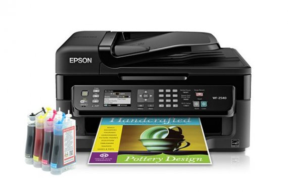 изображение МФУ Epson WorkForce WF-2540 Refurbished с СНПЧ