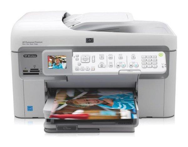 Купить МФУ HP PhotoSmart Premium Fax C309 с СНПЧ