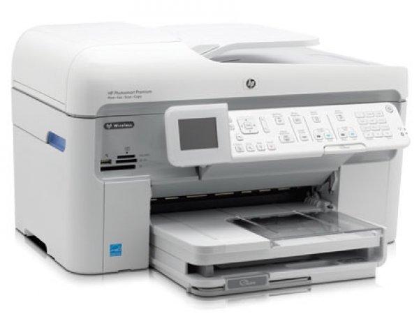 Купить МФУ HP PhotoSmart Premium Fax C309a с СНПЧ