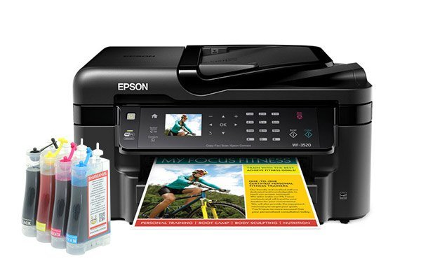 Купить МФУ Epson Workforce WF-3520DWF Refurbished (США) с СНПЧ Standart