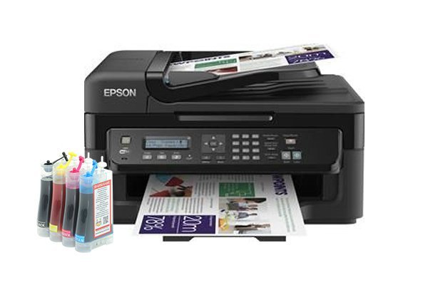 Купить МФУ Epson Workforce WF-2530WF Refurbished (США) с СНПЧ Standart