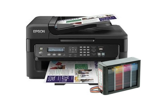 Купить МФУ Epson Workforce WF-2530WF Refurbished (США) с СНПЧ HighTech