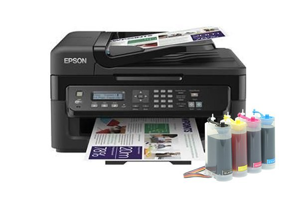 Купить МФУ Epson Workforce WF-2530WF Refurbished (США) с СНПЧ King Size