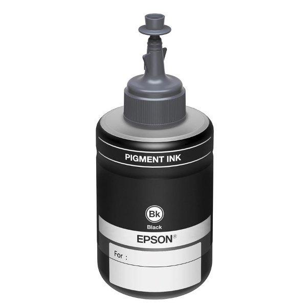 Оригинальные чернила T774 Black для Epson M100 (140ml)