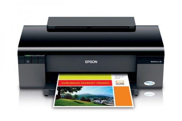 Купить Принтеры, копиры, МФУ, Принтер Epson WorkForce 30 (США)