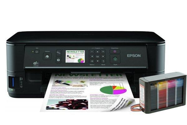 Купить МФУ Epson Stylus Office SX535WD с СНПЧ Hightech