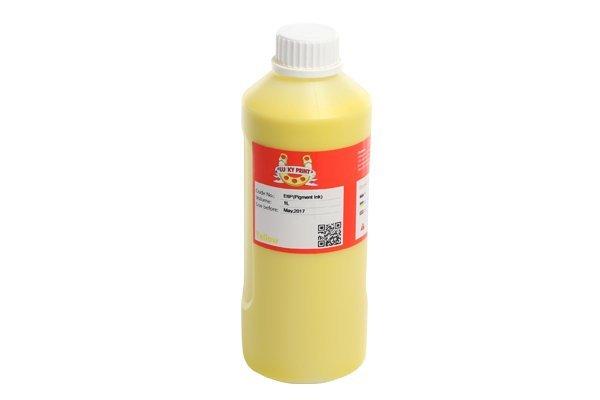 Пигментные чернила Lucky Print Yellow 1000 мл.