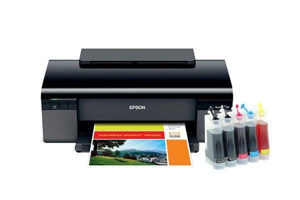 Купить Принтеры, копиры, МФУ, Сублимационный принтер Epson WorkForce 30 с СНПЧ