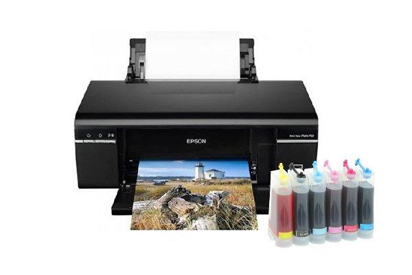 Купить Принтеры, копиры, МФУ, Сублимационный принтер Epson Stylus Photo P50 с СНПЧ