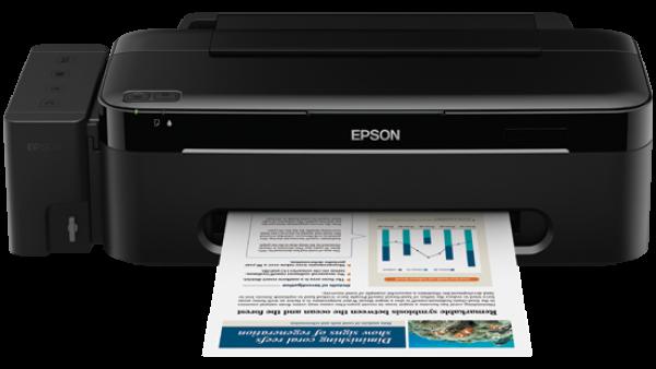 Купить Принтеры, копиры, МФУ, Сублимационный принтер Epson L100 с оригинальной СНПЧ и чернилами Lucky Print