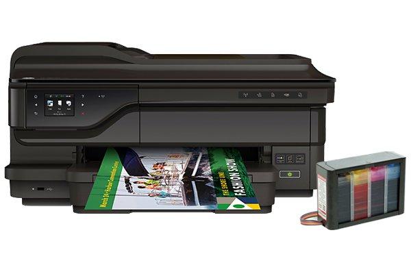 Купить МФУ HP Officejet 7612 с СНПЧ High Tech Profi