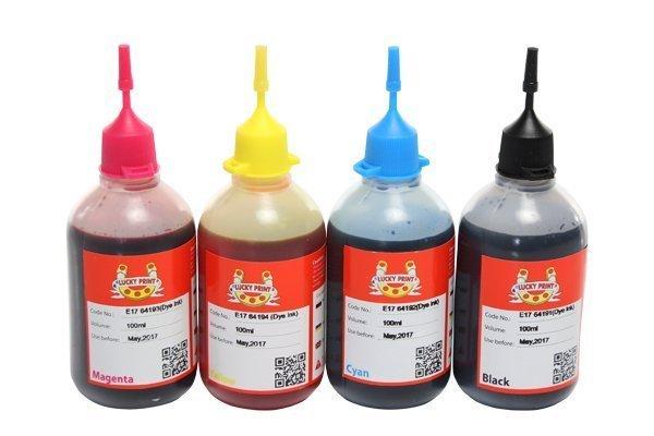 Купить Фоточернила (водорастворимые) для Epson Stylus SX430W Lucky Print Комплект (4*100 ml)
