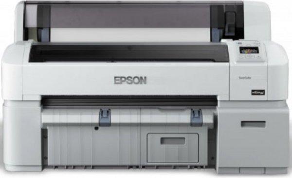 Широкоформатный принтер Epson SureColor SC-T3200 с ПЗК  (без стенда)