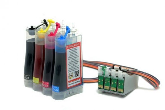 изображение СНПЧ Epson Expression Home XP-245 Standart