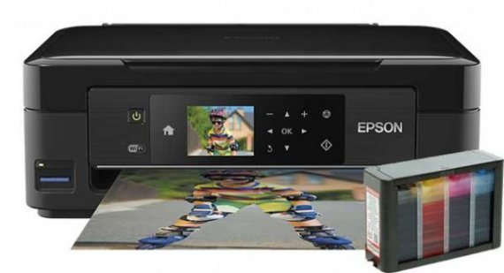 изображение МФУ Epson Expression Home XP-432 с СНПЧ HighTech