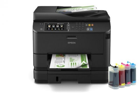 изображение МФУ Epson WorkForce Pro WF-4640 с СНПЧ KingSize