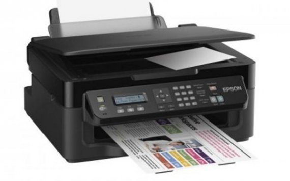 изображение МФУ Epson Workforce WF-2510WF с СНПЧ KingSize