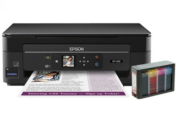 изображение МФУ Epson Expression Home XP-340 с СНПЧ HighTech