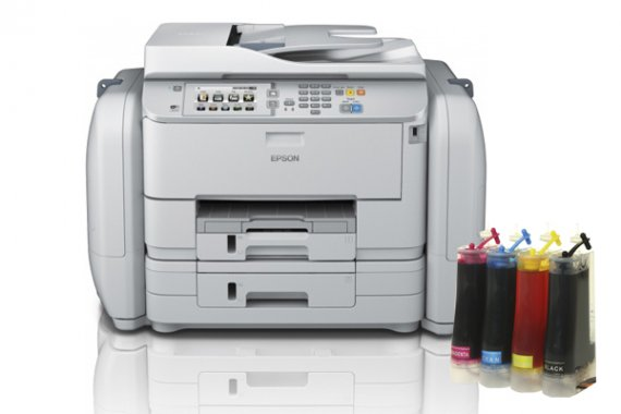 изображение МФУ Epson WorkForce Pro WF-R5690DTWF с СНПЧ