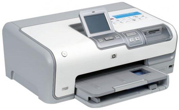 струйный Принтер HP Photosmart D7363 с СНПЧ