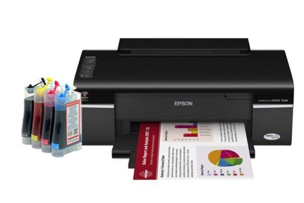 Купить Принтер Epson Stylus Office T40W с СНПЧ
