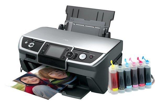 Купить Принтер Epson Stylus Photo R390 с СНПЧ