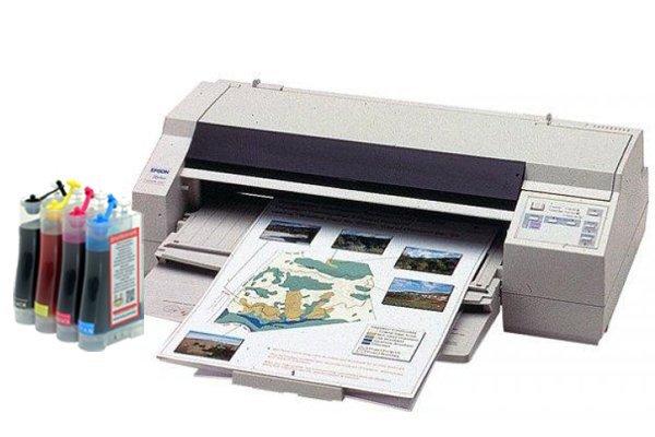 Купить Принтер Epson Stylus Color 1520 с СНПЧ