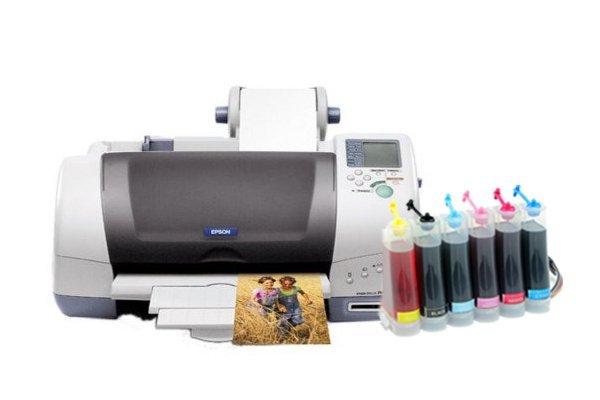 Купить Принтер Epson Stylus Photo 785EPX с СНПЧ
