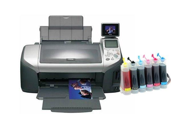 Купить Принтер Epson Stylus Photo R300 с СНПЧ