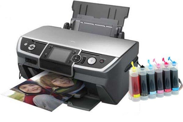 Купить Принтер Epson Stylus Photo R360 с СНПЧ