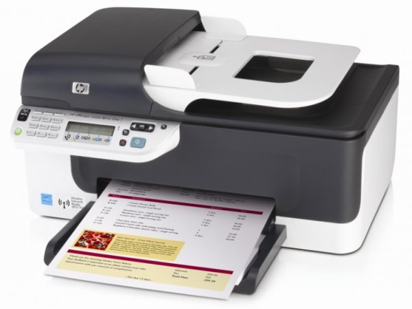 Купить МФУ HP OfficeJet J4624 с СНПЧ