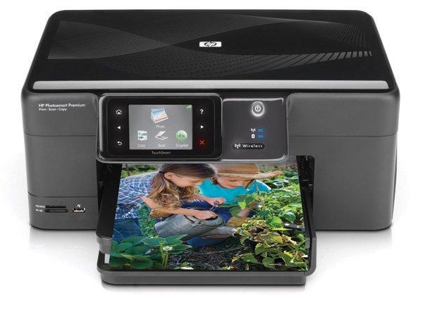 Купить МФУ HP PhotoSmart Premium Fax C309g с СНПЧ