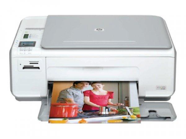 Купить МФУ HP Photosmart C4340 с СНПЧ
