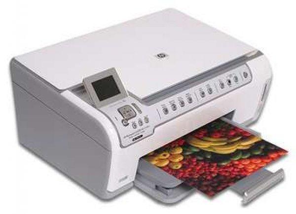 Купить МФУ HP PhotoSmart C5390 с СНПЧ
