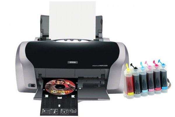 Купить Принтер Epson Stylus Photo R200 с СНПЧ