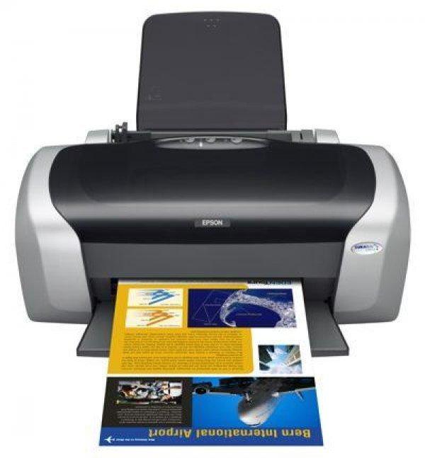 Принтер Epson Stylus C87 с СНПЧ  - купить со скидкой