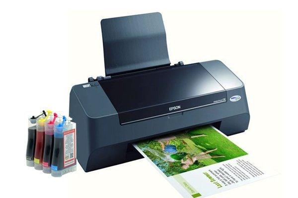 Принтер Epson Stylus C91 с СНПЧ  - купить со скидкой