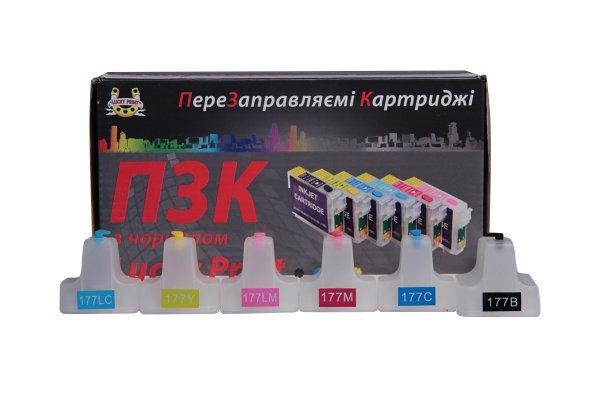 Перезаправляемые картриджи HP Photosmart C6100 с чернилами