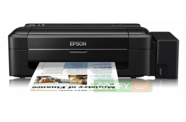 Принтер Epson L300 с оригинальной СНПЧ
