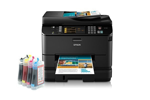 изображение МФУ Epson WorkForce Pro WP-4540 Refurbished с СНПЧ
