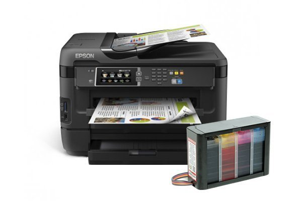 изображение МФУ Epson WorkForce WF-7620DTWF с СНПЧ HighTech