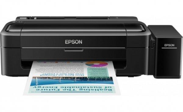 Принтер Epson L312 с оригинальной СНПЧ