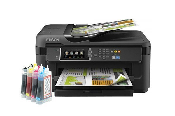 изображение МФУ Epson WorkForce WF-7610DWF Refurbished с СНПЧ Standart