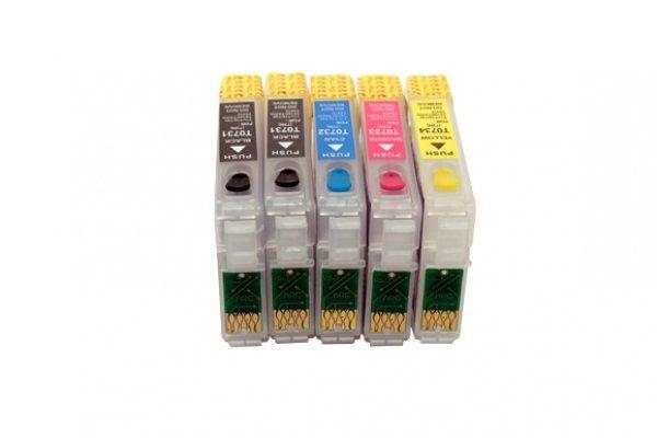 Перезаправляемые картриджи для Epson TX510FN с чипами LUCKY-PRINT.COM.UA 119.000