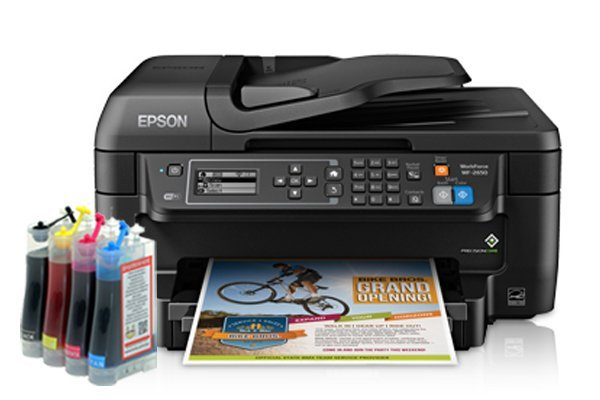 изображение МФУ Epson Workforce WF-2650 Refurbished с СНПЧ