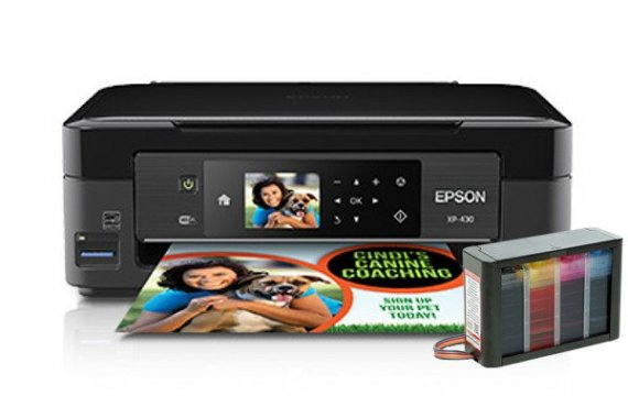 изображение МФУ Epson Expression Home XP-430 с СНПЧ HighTech
